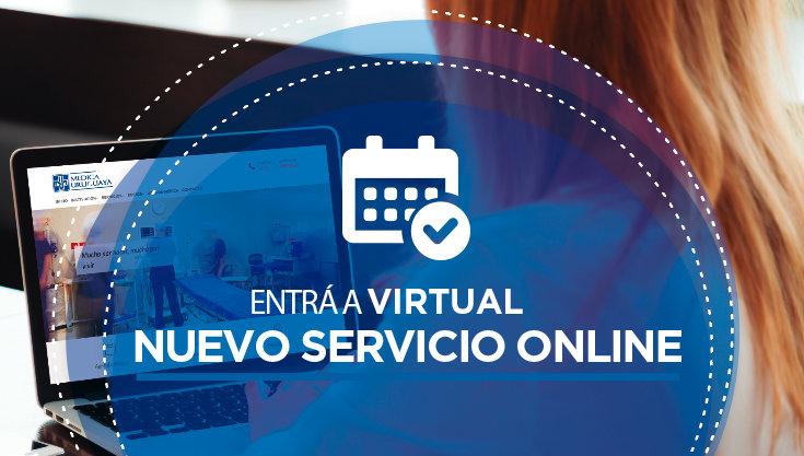 Entrá a Virtual, nuevo servicio online